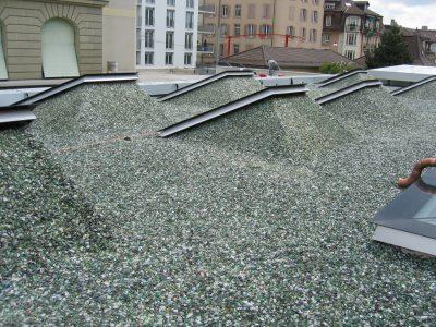 Les toitures lestées minérales